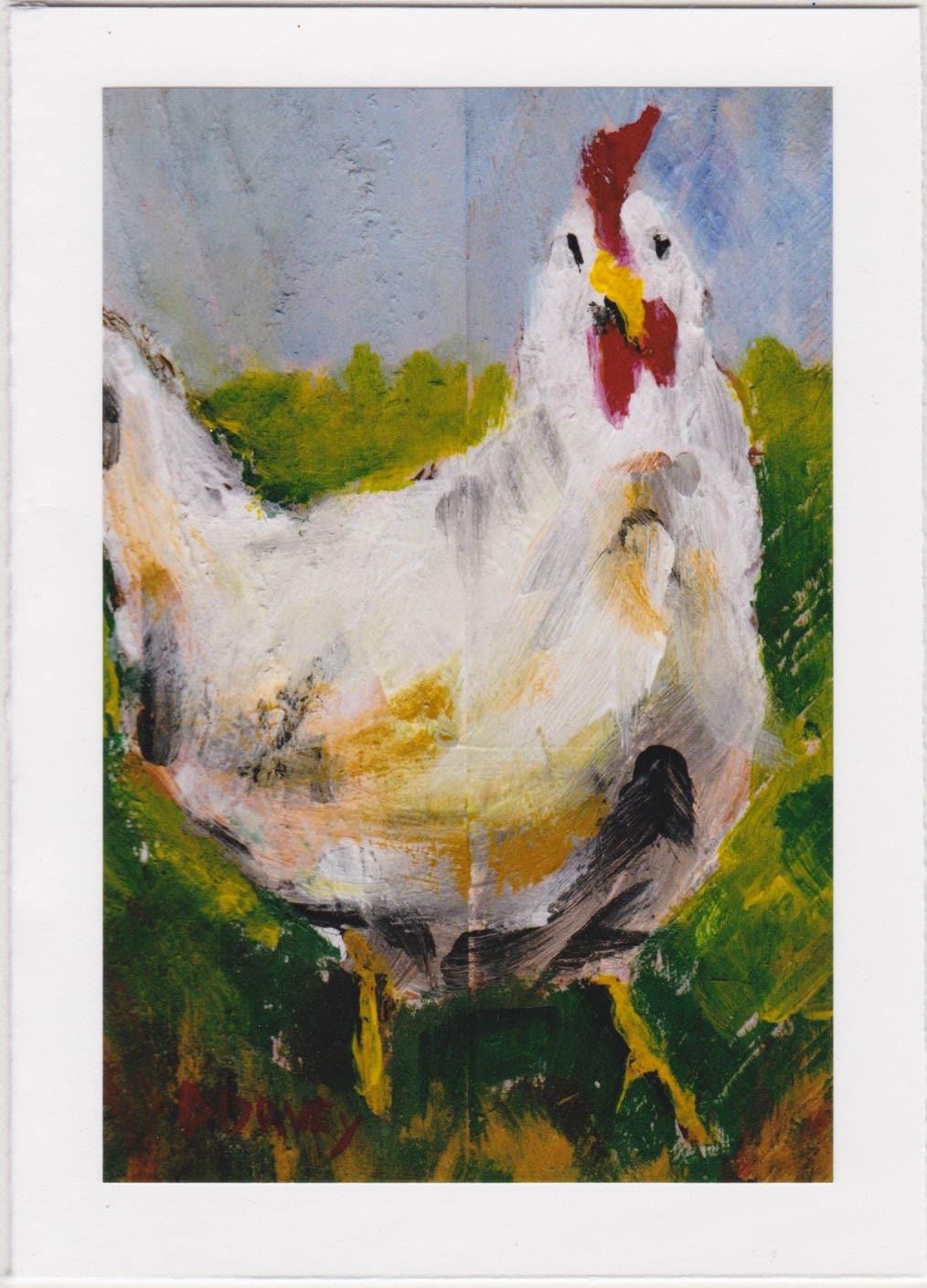 Chicken greeting card 1012 kristyandbryce Gallery