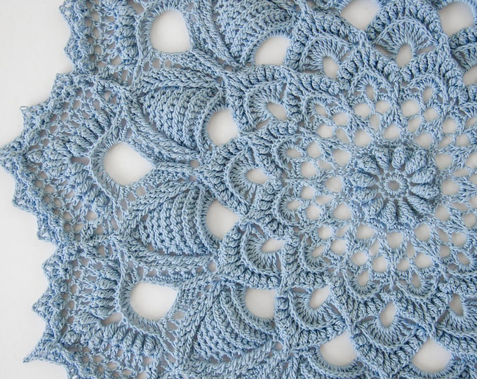 Crochet doily pattern KAIA, Instant download