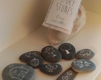 Story stones, i Sassi delle storie