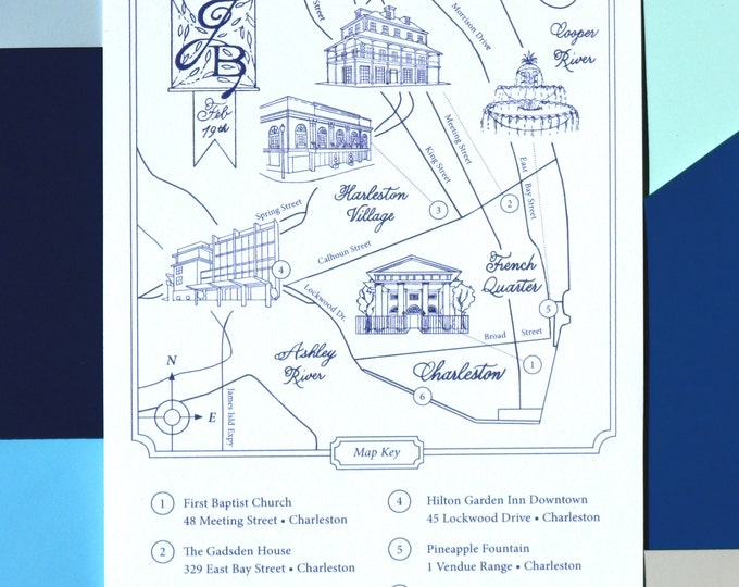 Featured listing image: THE Modern Wedding Map