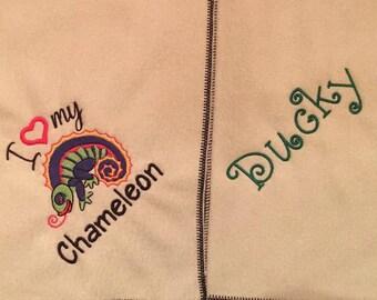 Chameleon Blanket Ubby I love My Chameleon Blanket Ubby