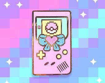 """Kawaii Gameboy Hard Enamel Pin 1.75"""""""
