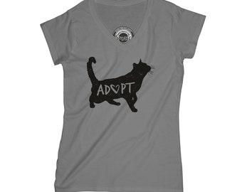 Cat t-shirt animal shirt save animals shirt kitten t-shirt volunteer shirt inspirational shirt motivation shirt wife gift     APV3