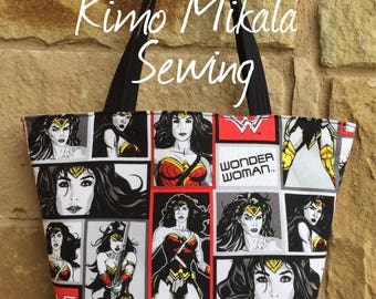 Wonder Woman Inspired Handbag/Shoulder Bag
