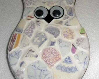Lovely Pottery Shard Owl