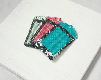 Keychain Wallet Handmade Keychain Card Holder Fashion ID Holder w/ Single Pocket