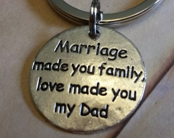Father in Law Keychain Gift,Father in law gift,Dad gifts,Quote Charm for Father in Law,Key Chain gift,Father in Law,Best Father in Law gifts