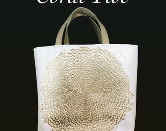 Coral Tide Resort Tote Bag