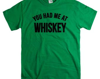 Whiskey Gift - St Patricks Day Shirt for Men - Whiskey Lover Gifts - Funny Drinking Tshirts
