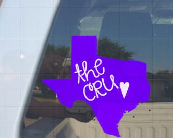 Crusaders Decal/The Cru/College Sports/Belton/Texas
