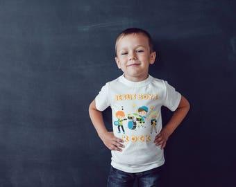 Jesus Boys Rock Christian Shirt, Christian Boys Shirt, Christian Shirt