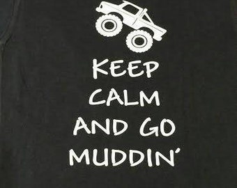 Toddler muddin shirt