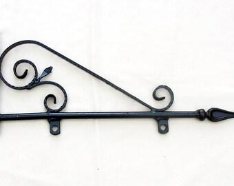Hanging sign bracket