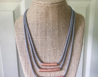 Triple Layered Copper Necklace