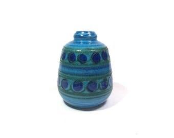 Vintage Vase, Flower Vase, VEB Strehla Vase 60, West German Pottery, Vintage Ceramic Vase, Homedecor Vase, Vinatage Vase, Strehla 1208, 60s