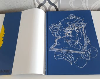 Official Serentiy Sailor Moon German Artbook Luna Edition Art book from the 90s Very Rare