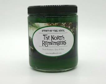 New Look - The North Remembers, Game of Thrones Inspired Soy Candle