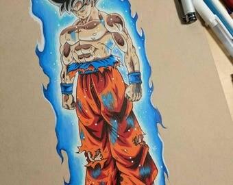 Goku Limit Breaker - Original Drawing