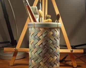Kitchen Utensil Basket/Artist Brush Basket