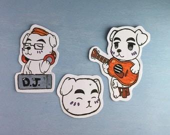 Animal Crossing K.K. Slider - sticker set