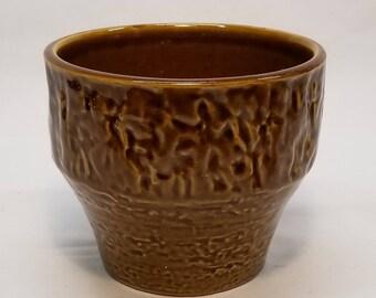 Vintage 1960-70s JASBA Keramik N028 22 12 Planter Pot Cachepot West German Fat Lava Vase Era