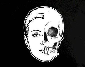 Half-Girl-Half-Skull