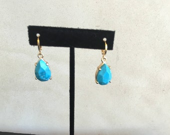 Turquoise Earrings by Dobka
