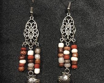 Summer Seashell Earrings