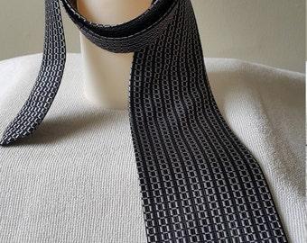 ALAMODE Takashimaya Vintage Japanese necktie 100% SILK Made in Japan