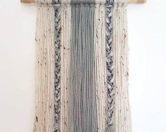 Boho Yarn Wall Hanging-Decor-Wall Decor-Dorm Decor-Tapestry-Housewarming
