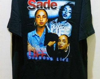 SADE Diamond Life Black T shirt