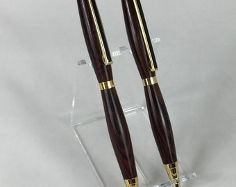 Cocobolo Handcrafted Wood Pen & Pencil Set #101 w/ Box