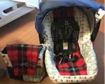 custom baby bag option