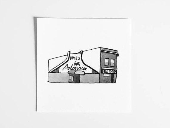 Nye's Polonaise Room - Minneapolis Art Print