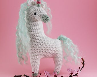 Clara The Unicorn Amigurumi Pattern