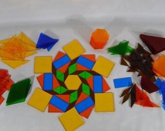 Plastic Tangram set