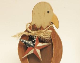American Eagle, Wood Eagles, Primitive Animals
