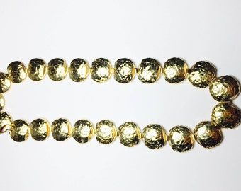 Vintage  14K Italian Yellow Gold Necklace