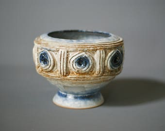 FRATELLI FANCIULLACCI Bowl, 1950s Italian Mid Century Bowl, Made in Italy, Handcrafted Italian Ceramic, Italian Mid Century Vase, Bitossi