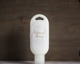 All Natural Lotion - Body Cream - Oatmeal Honey - Body Lotion - Hand Lotion  - Vegan Lotion - Hand Cream - Scented Lotion - Natural Lotion