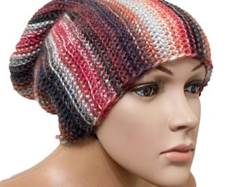 Unisex Hat - Womens Hat Knit Hat - Cap sock - Slouchy Beanie - Slouchy Hat - Beanie Womens Accessories Winter Hat
