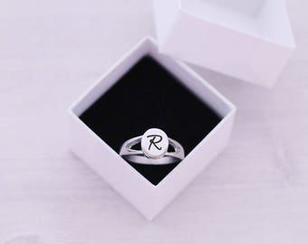 SIZE 9 - Cremation Ring - Cremation Jewelry - Engraved Jewelry - Urn - Pet Memorial - Urn Ring - Pet Cremation - Engraved Ring - Oval Ring