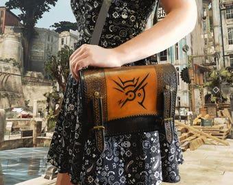 Dishonored - Shoulder Bag - Handbag - Handmade Leather - Cosplay