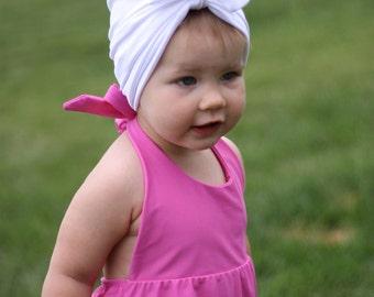 White Swim Turban