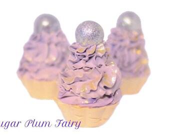Sugar Plum Fairy - Artisan Soap Cupcake