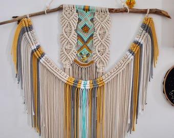 Loom macramé and knots June