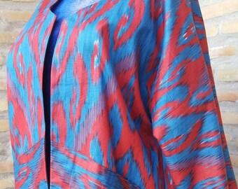 Uzbek coat,  Tribal kaftan, Chapan sarducus, cardigan