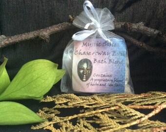 Chase Away Evil Salt and Herbal Spiritual Bath Hoodoo Voodoo Wicca Santeria