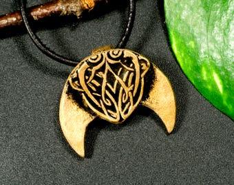 Trailer, moon, bronze, Celtic, Viking, LARP, middle ages