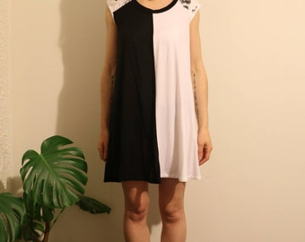 Yin Yang Dress - with pockets!